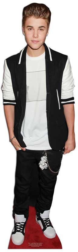 Bieber-Justin-LIFESIZE-CARDBOARD-CUTOUT-STANDEE-Standup-Party-Prop-Decoration