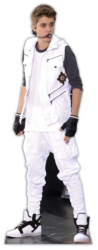 Bieber-Justin-LIFESIZE-CARDBOARD-CUTOUT-STANDEE-Standup-Party-Prop-Decoration
