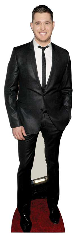 Michael Buble Lifesize Cardboard Cutout Standee Standup Big Band Jazz