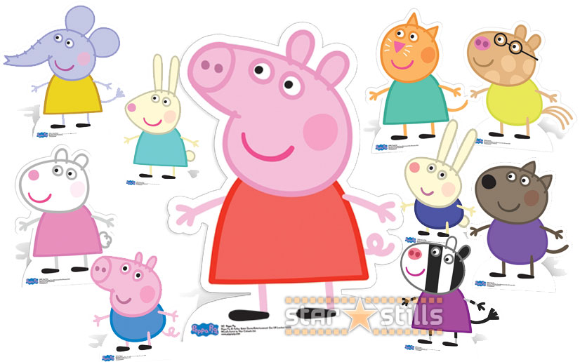 Superb image for peppa pig character free printable images