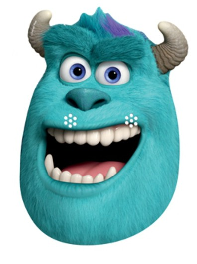 Official sulley and mike monsters university inc card party face official sulley and mike monsters university inc card voltagebd Image collections