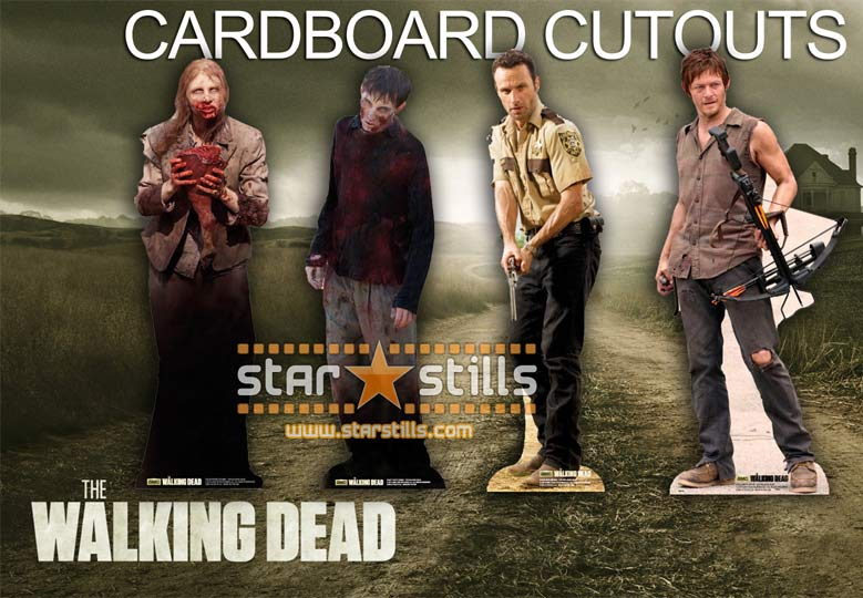 Daryl Dixon Cardboard Cutout Standee Standup The Walking