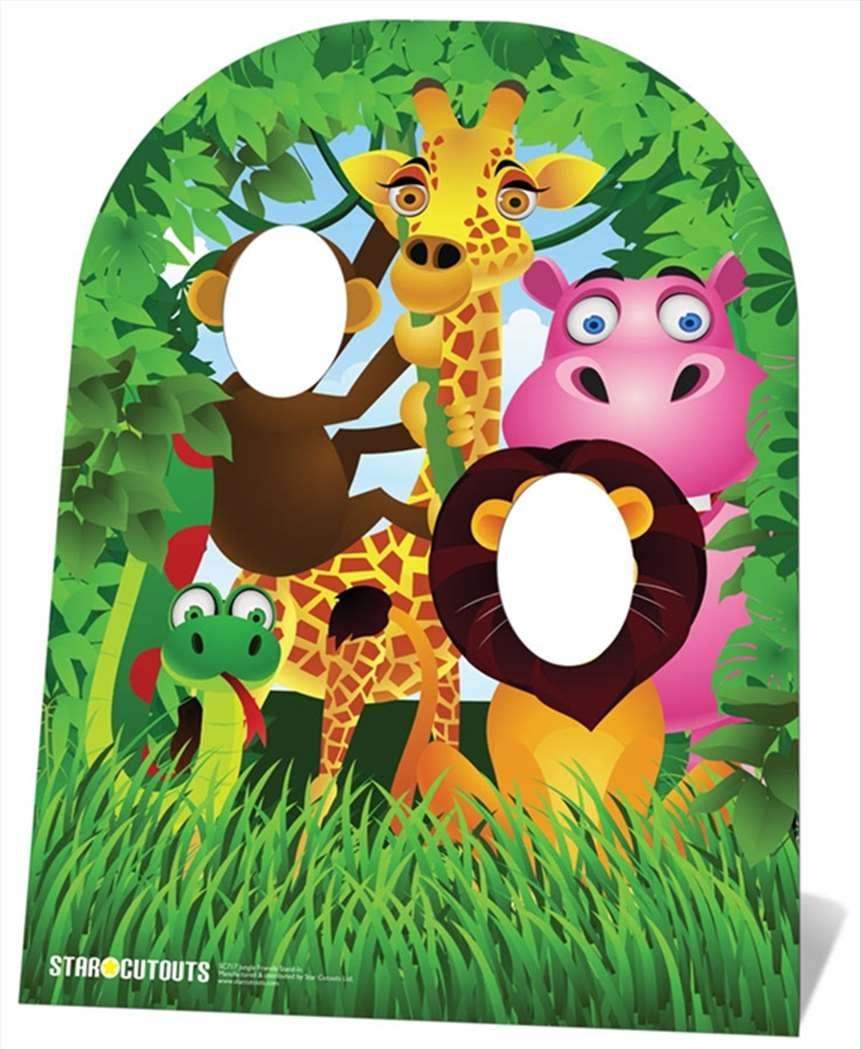 Jungle Friends CHILD SIZE CARDBOARD STAND-IN CUTOUT ...